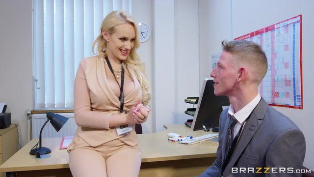 Lady boss and employee porn