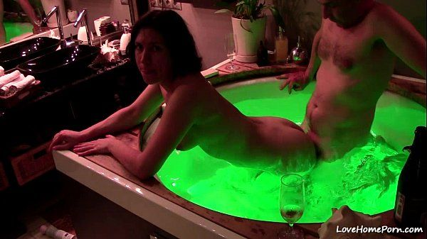 best of Fucking hot tub in Wife