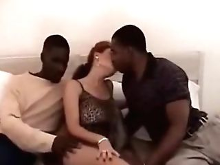 Interracial group compilation New Years Eve
