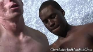 best of And twins interracial small handjob ass penis