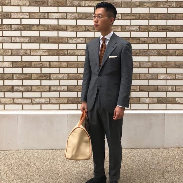 Buzz reccomend Asian clothing man style suit