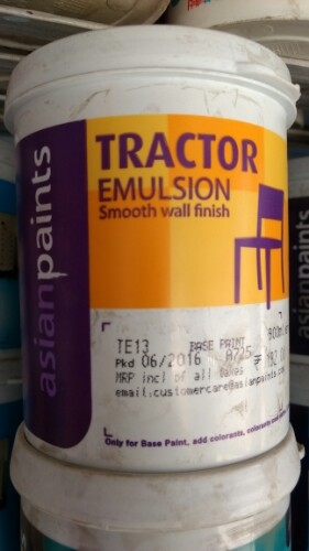 Stardust reccomend Asian paint tractor emulsion