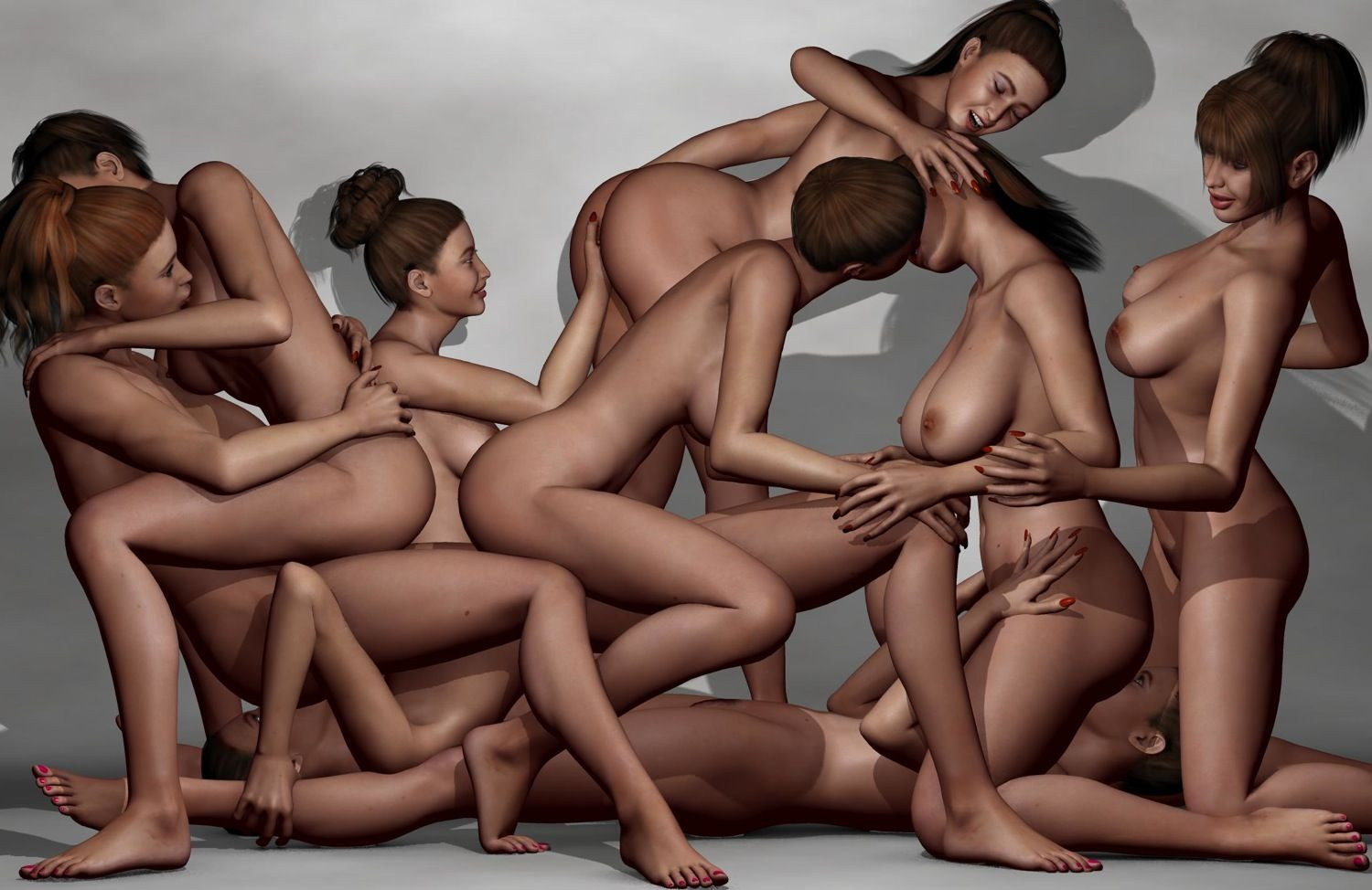 best of Animated naked orgies