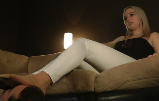 Mistress footstool