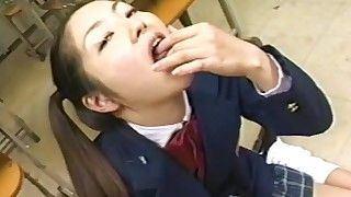 Bullseye reccomend japanese schoolgirl bukkake facial