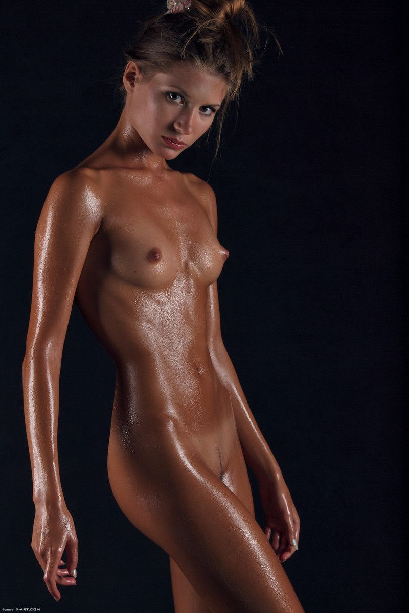 best of Naked oiled Babe asian