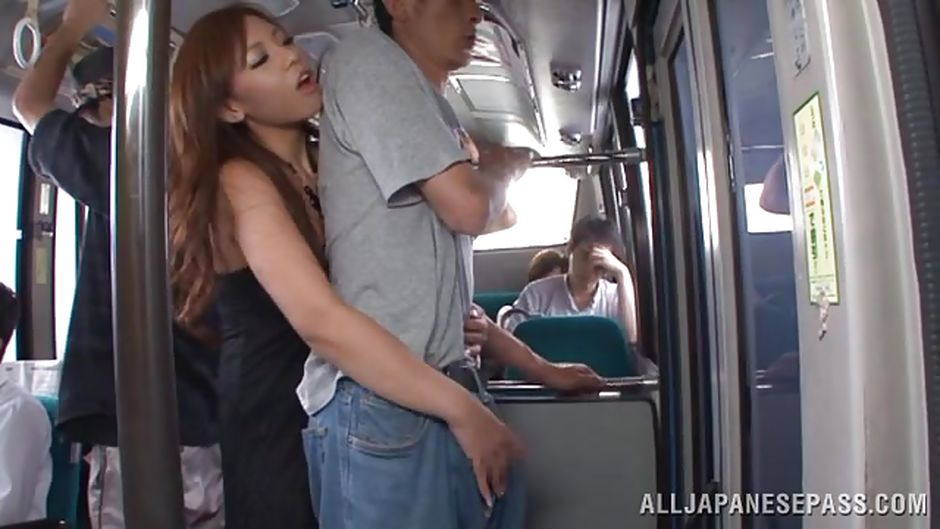 Asian slut japanese train