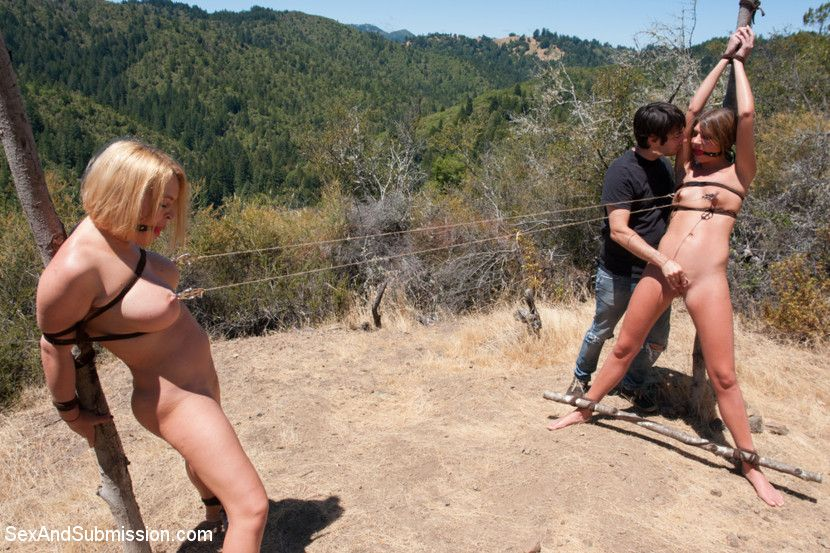 best of Naked cock outdoor blowjob bdsm