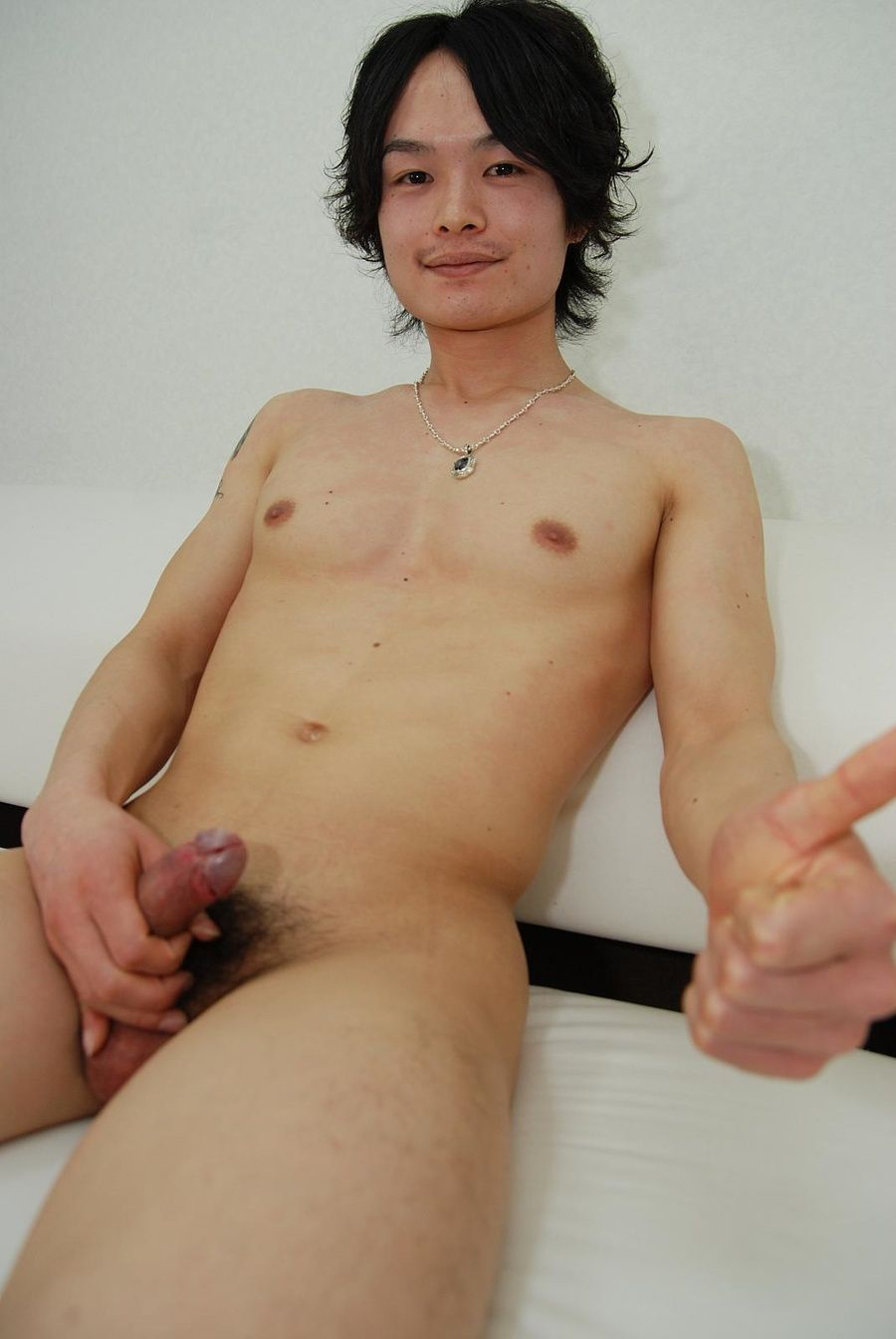 Pornstar japanese masturbate penis slowly