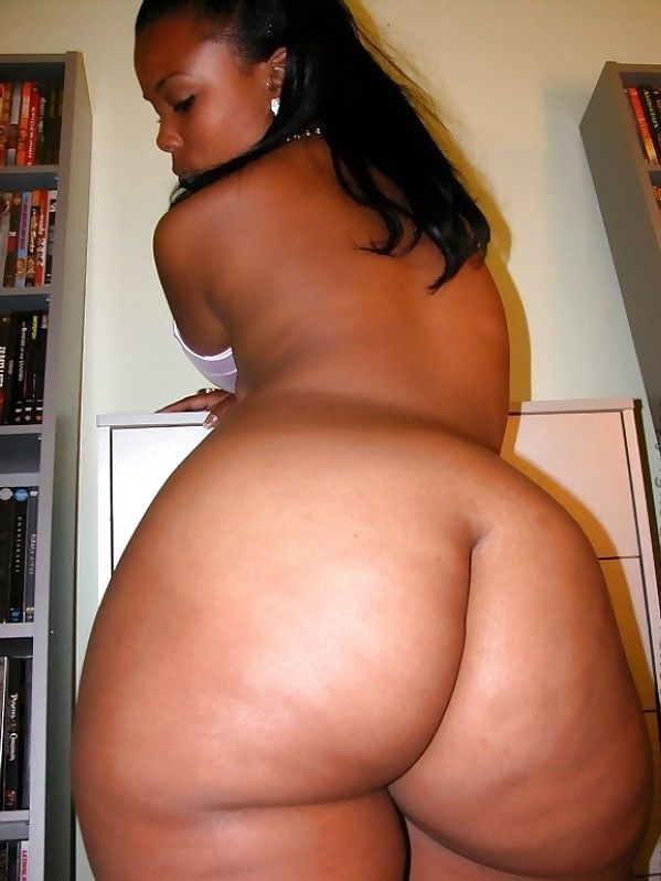Big ass black women butt naked