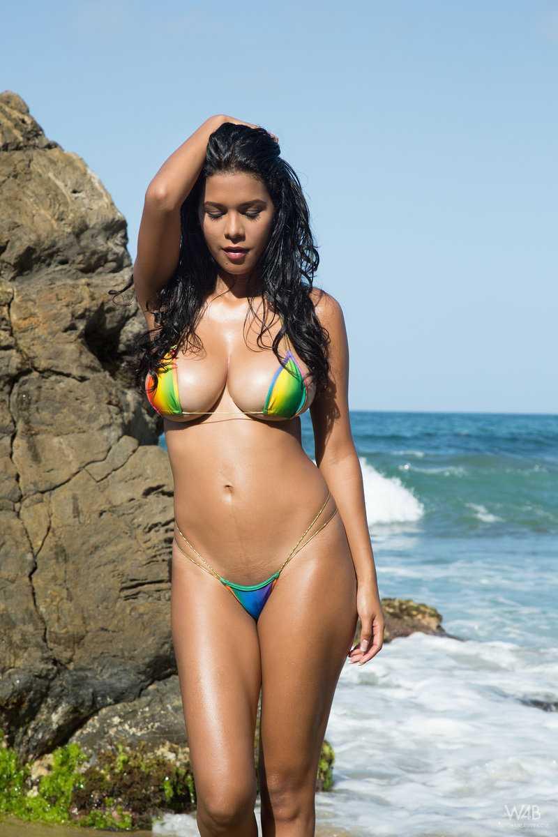 Daisy C. reccomend bikini assholes blowjob cock on beach