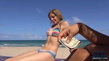 best of Dick blowjob on whore beach bikini