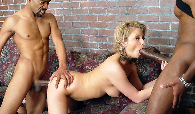 Blacks blondes cuckold