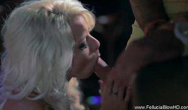 best of Girlfriend Club Public Blonde In Blowjob