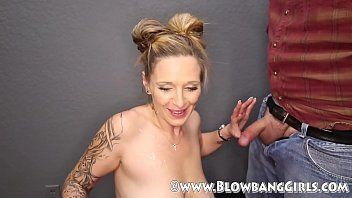Green T. reccomend BlowBang Girls Record 14 Cumshots