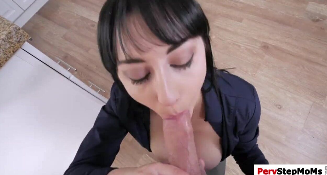 Blowjob From Step Mom