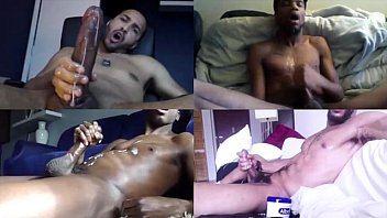 Black guys nutting