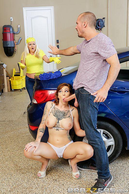 Merlot reccomend car wash brazzers