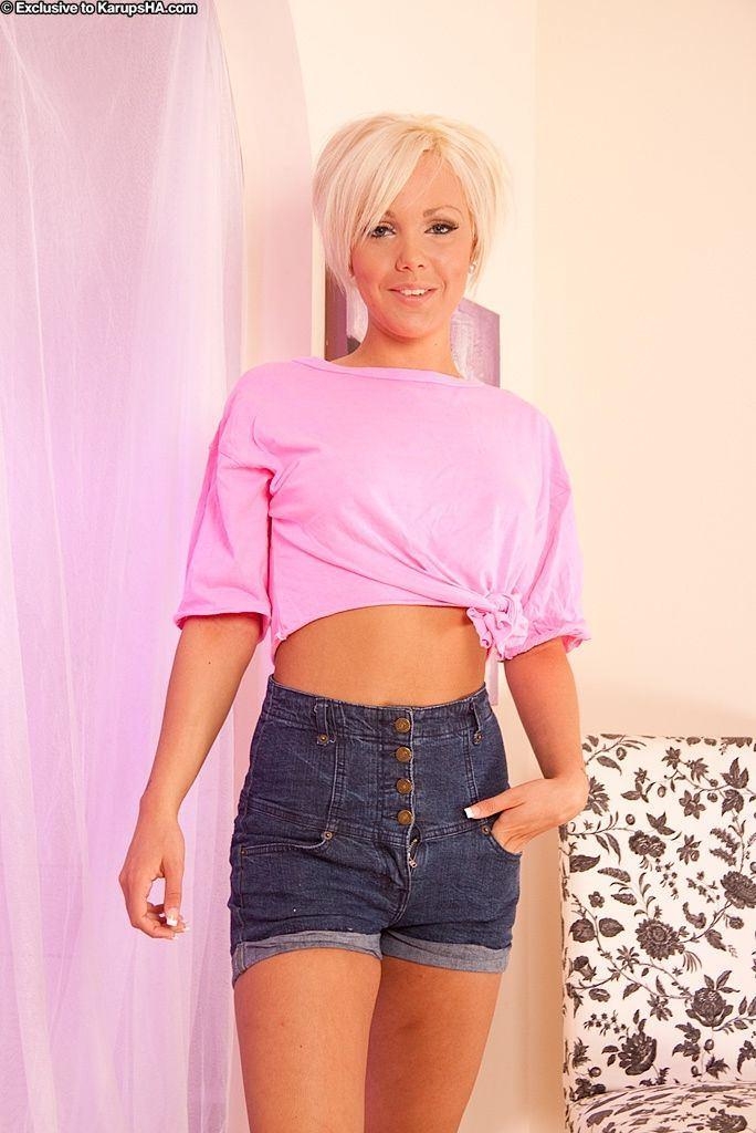Joker reccomend pink jean shorts