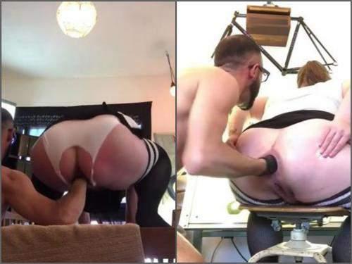 best of Butt homemade wife Big anal
