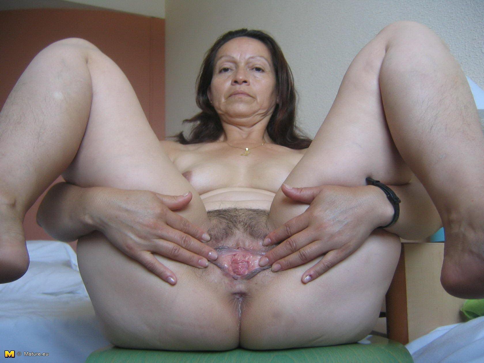 Chubby hairy slut