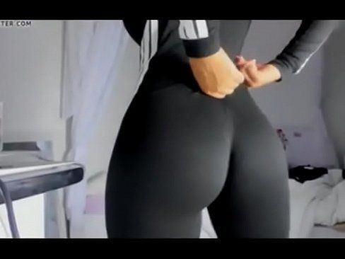 best of Public cum yoga pants