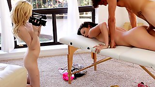 Smoking Double Blowjob Arabelle Raphael & Lady Fyre.