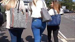 Grasshopper recommendet heels walking jeans
