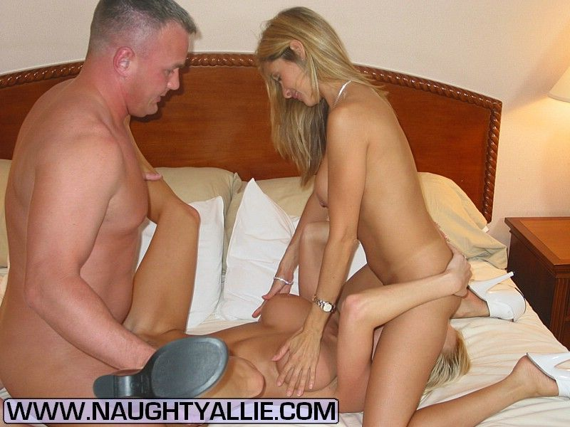 Naughty wife threesome