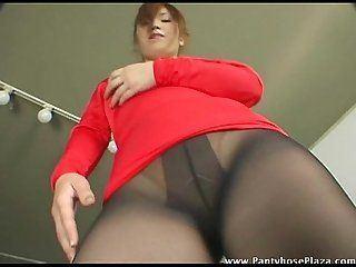 Drum reccomend japanese pantyhose tease