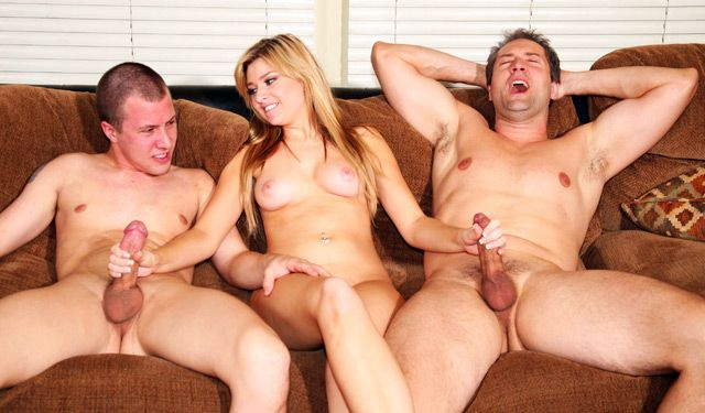 best of And son threesome Dad