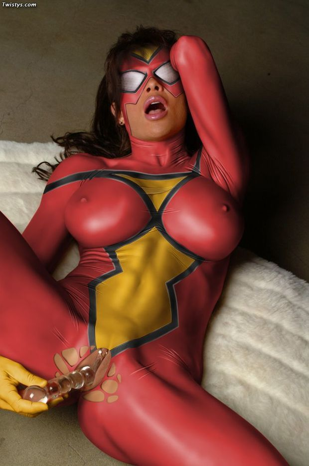 Robin H. reccomend spider girl cosplay