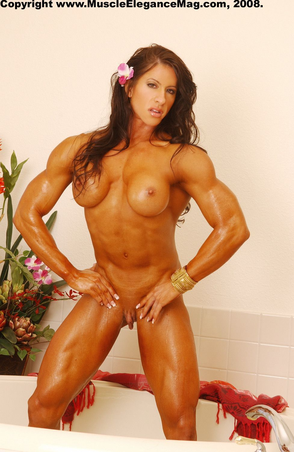 Big clits muscle women and clit