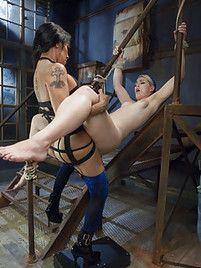 Kickback reccomend shemale fucks girl bondage
