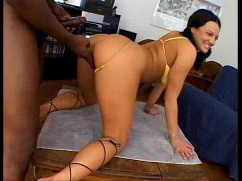 Brown S. reccomend Belladonna huge black cock creampies Interracial