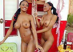 Prairie recommend best of ebony twins suck penis orgy