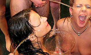 best of Drinking bukkake piss