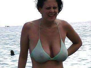 best of Assholes cock on blowjob beach bikini