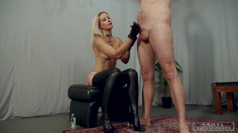 Femdom penis eating