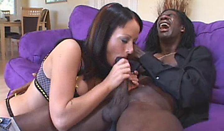 Melissa lauren interracial