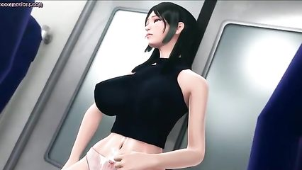 Bikini girl masturbate penis slowly