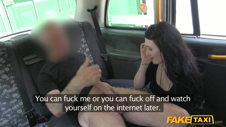 Fake taxi barely