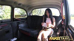 Fake taxi skinny teen