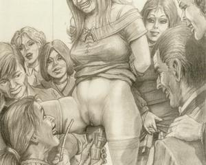 Rellie J. reccomend Farell drawings bdsm