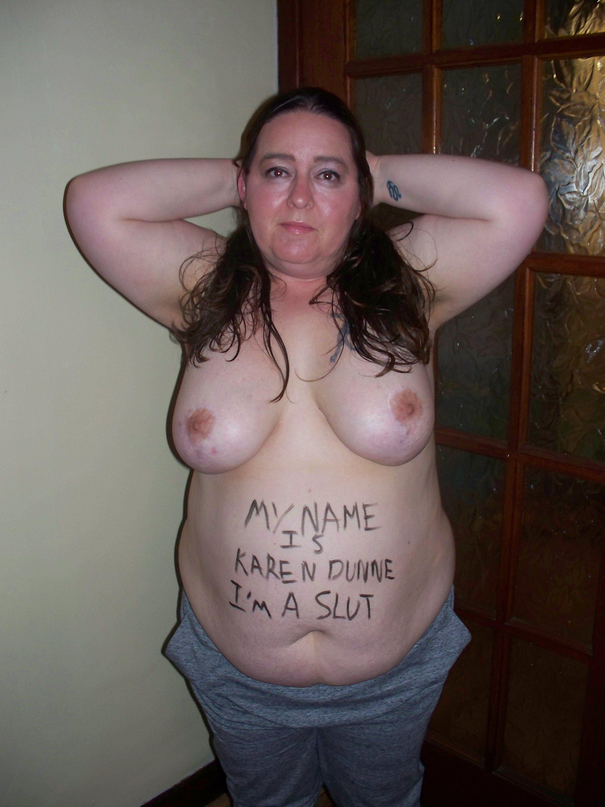 Fat piggy slut