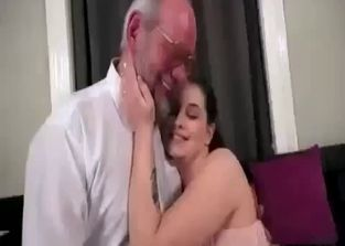 Dad fucks sleeping step daughter