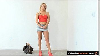 Amater calendar audition slut load