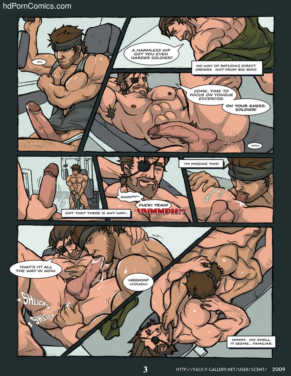 Sex comics solid snake
