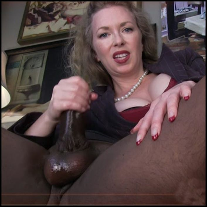 Female domination handjob