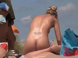 French naturist lady